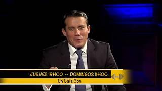 Promo Un Cafe con Ricardo Zambrano