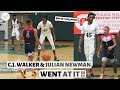C.J. Walker & Julian Newman WENT AT IT!! | Oak Ridge vs Downey Christian