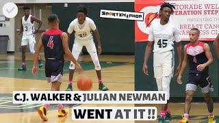 C.J. Walker & Julian Newman WENT AT IT!! | Oak Ridge vs Downey Christian
