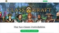 Ocho tutoriales en castellano (español) que te ayudarán a configurar la aplicación para gamificar tus clases paso a paso.