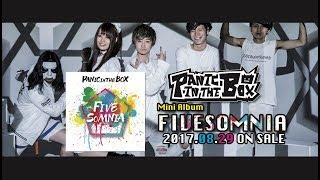 "PANIC in the BOX Mini Album ""FIVESOMNIA"" 2017.08.29 ON SALE M1. F.R..."