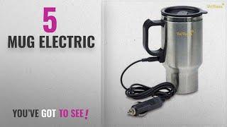 Top 10 Mug Electric [2018]: Velveeta Electric Car Cigarette Lighter Operated Mug With Car Wire Plug
