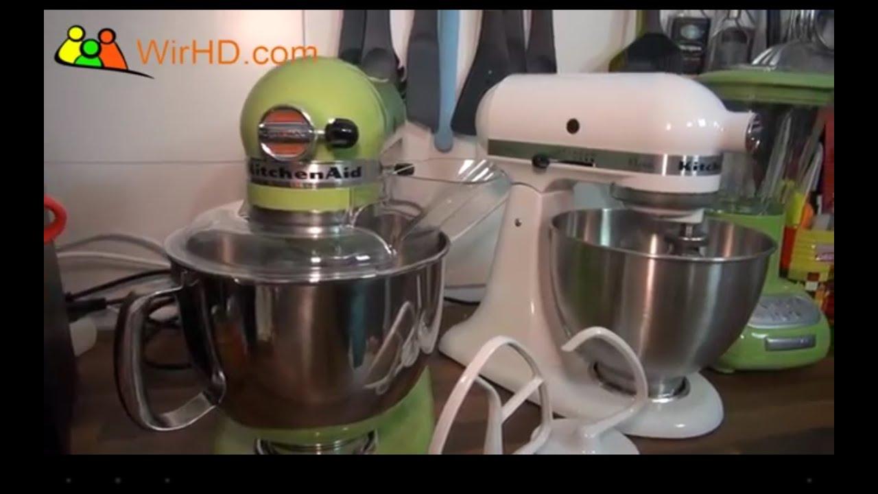 kitchenaid artisan vs kitchenaid classic der. Black Bedroom Furniture Sets. Home Design Ideas