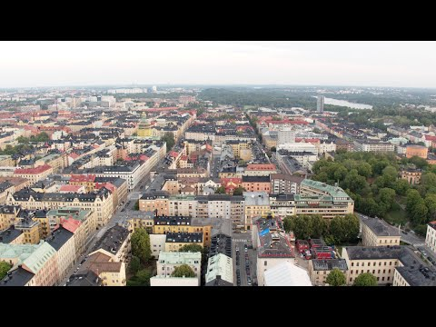 3365. Stockholm City Stock Footage Video