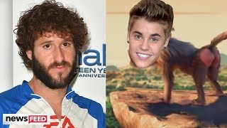 """Justin Bieber, Ariana Grande & More TRANSFORM Into Animals in """"Earth"""" Song Teaser"""