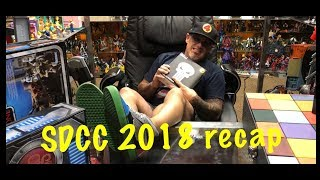 SDCC 2018 Review. San Diego Comic Con 2018 events