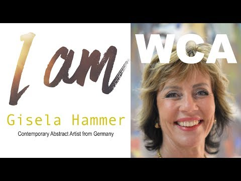 "I Spoke about ""Fleeing Refugees to Europe""  - Gisela Hammer"