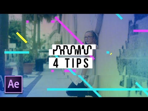 4 Amazing Promo Motion Graphics Techniques | After Effects Tutorial