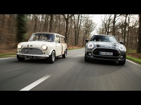 2016 mini clubman vs 1963 mini countryman comparatif. Black Bedroom Furniture Sets. Home Design Ideas