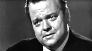 Orson Welles On Citizen Kane