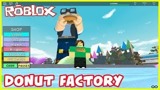 DONUT FACTORY | Best Tycoon EVER! | Let's Play Roblox