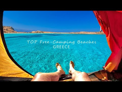 30 TOP Free Camping beaches in GREECE ~ 30 παραλίες για κατασκήνωση & φυσιολατρεία!