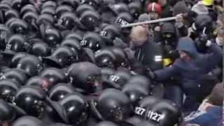 Как разгоняют митинги в Евросоюзе и в США