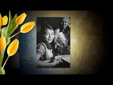 Видео поздравление С ЮБИЛЕЕМ!!! Женщине 50 лет  (Видео шаблон)