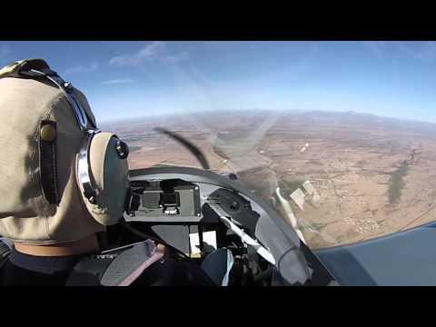 Flying in Arizona