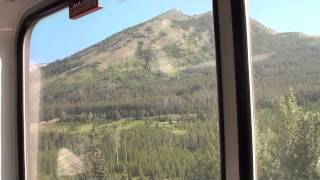 Amtrak Empire Builder 8 [Ride] Through Glacier National Park