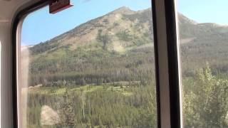 Amtrak Empire Builder 8 [Ride] Through Glacier National Park