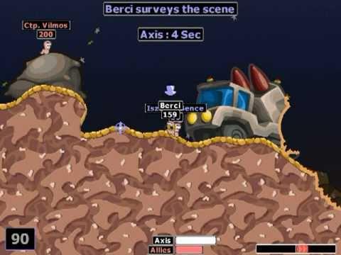 Worms 2 gameplay - KERO 10.D