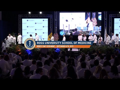White Coat Ceremony January 2019 - Ross University School Of Medicine