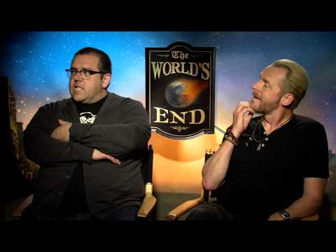 The World's End (2013) Exclusive: Nick Frost and Simon Pegg (HD) Thomas Law, Zachary Bailess