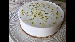 Постный десерт без выпечки | Веганский десерт с кокосовыми сливками и миндальной мукой