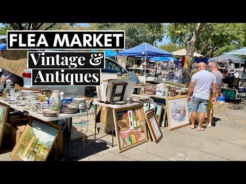 Vintage & Antique Flea Market    October 2021 - YouTube