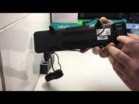 Автомобильный видеорегистратор с 2-мя камерами Eplutus D88