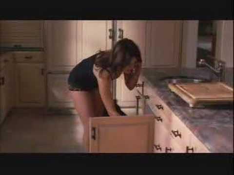 Entourage  Carla Gugino in Her Underwear