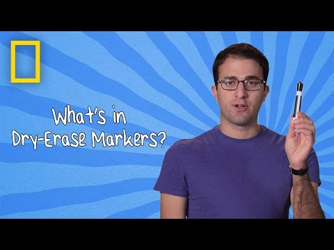 What's in Dry-Erase Markers? | Ingredients With George Zaidan (Episode 10)