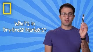 What's in Dry Erase Markers? | Ingredients With George Zaidan (Episode 10)