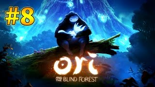 Ori And The Blind Forest Walkthrough Part 8 - Recover the Sunstone from Sorrow Pass (Xbox One)