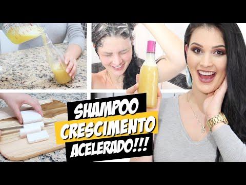 Shampoo Caseiro p/ Cabelo Crescer Sem Gastar Nada! (Crescimento Acelerado)  por Julia Doorman