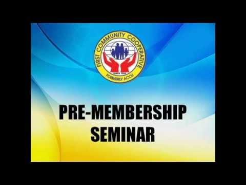 FICCO Pre-Membership Seminar - 1ST TOPIC