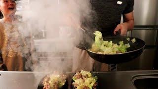 びっくり亭風の焼肉が美味いよねRino&Yuuma