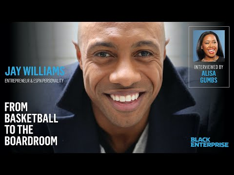 From Basketball to The Boardroom with Entrepreneur and ESPN personality, Jay Williams