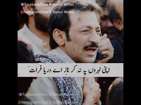 Famous Noha Khowan Hassan Sadiq Ka WhatsApp Status