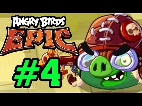 ANGRY BIRDS EPIC - ĐỤNG ĐỘ LỢN PHI CÔNG SIÊU CẤP Tập 4