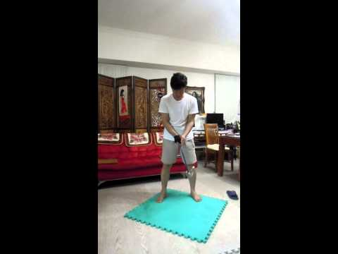 Switch Golfer (2): Dry Run for both Right-hand and Left-hand Swing and become a Switch Golfer