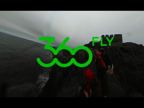 Isle of Man Coasteering in 360 degrees