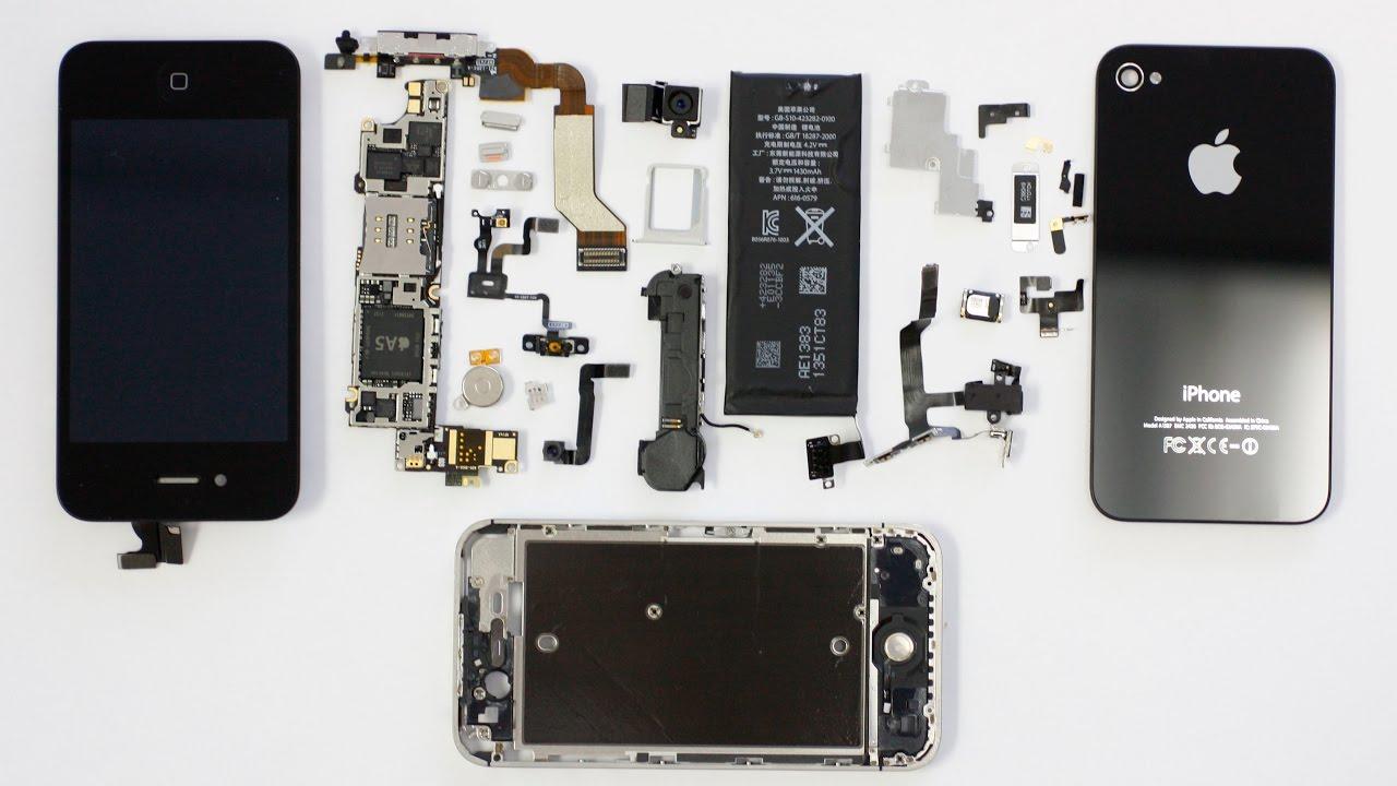 Iphone 4s инструкция по разборке