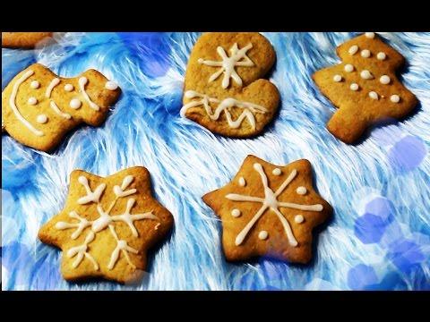 Имбирное печенье // Рецепт новогоднего печенья с глазурью