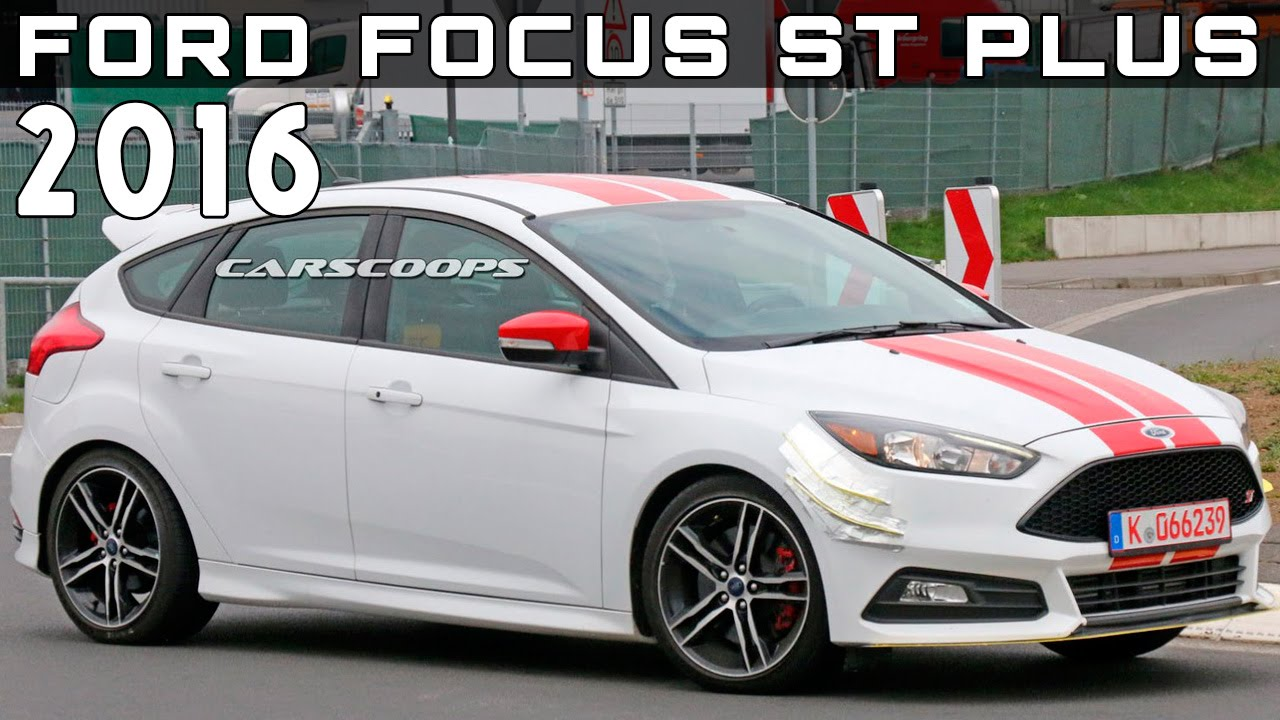 2016 ford focus st plus review rendered price specs release date youtube. Black Bedroom Furniture Sets. Home Design Ideas