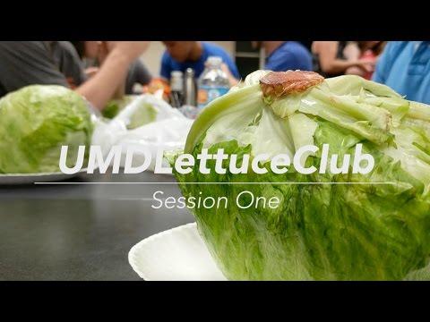 University of Maryland Lettuce Club
