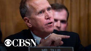 Republican Senator Thom Tillis faces tough reelection in North Carolina