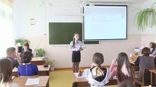 Школьники демонстрируют свои научные работы