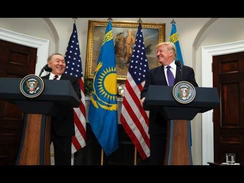 WATCH: President Trump has Joint Press Conference with President Nursultan Nazarbayev of Kazakstan