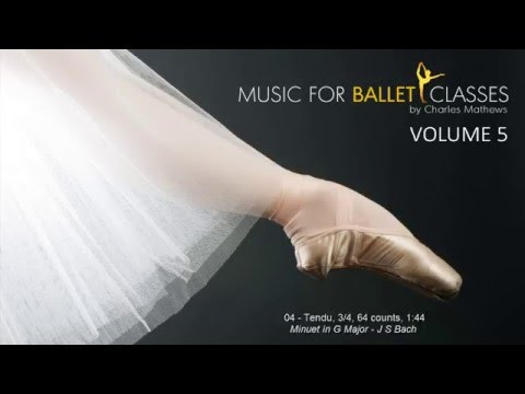 Music for Ballet Class Vol 5 - Inspiring Classical Music for