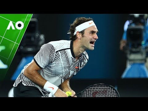 Roger Federer's 36 best points from the Australian Open