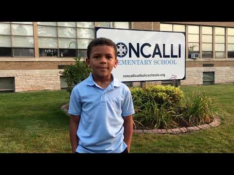 Dante's testimonial - Roncalli Elementary School