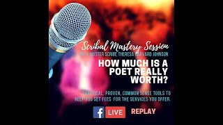 How much is a poet really worth? (Setting fees and paying poets in ministry)